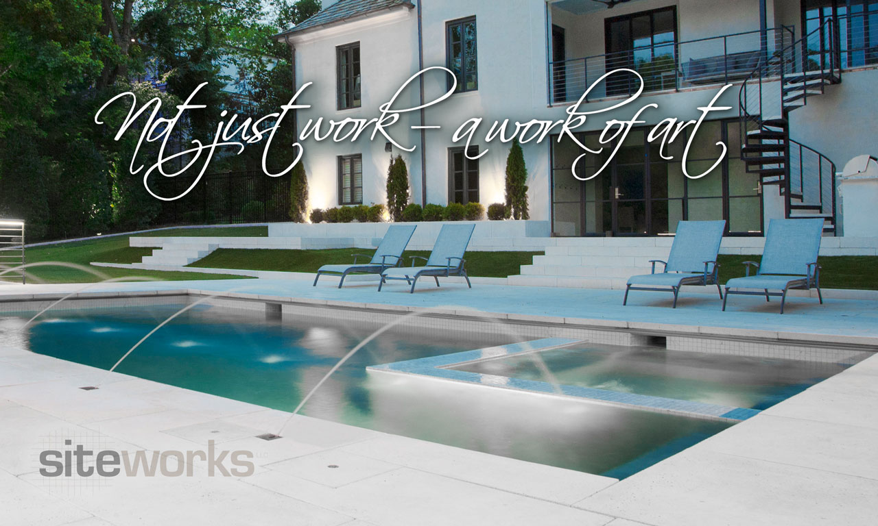 Siteworks Swimming Pool Contractor For