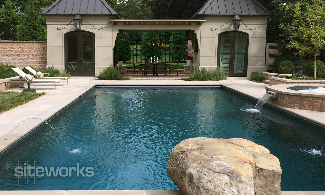 Siteworks Swimming Pool Contractor For Custom Pools